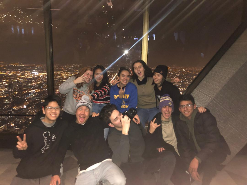 Our 2018-19 inbound exchange students had a great visit to Chicago in December 2018!